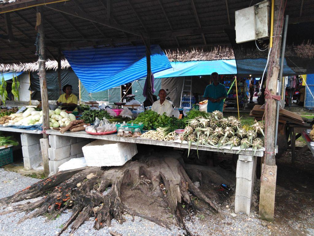 Le marché de Khao Lak