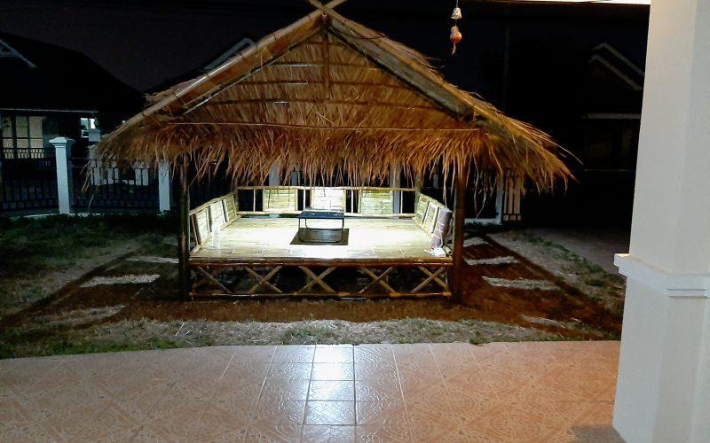 Construction d'un Sala à San Kampheang – Thaïlande