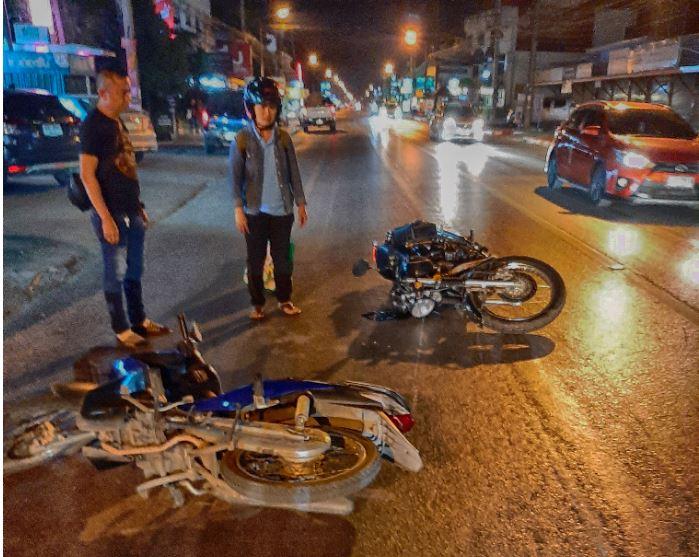 Accident de moto à Chiang Mai - Conduire en Thaïlande