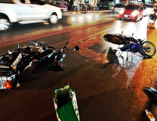 Conduire en Thaïlande - Accident de moto à Chiang Mai