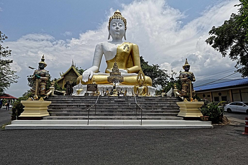 Wat Doi Kham - Chiang Mai - Temple de la montagne dorée