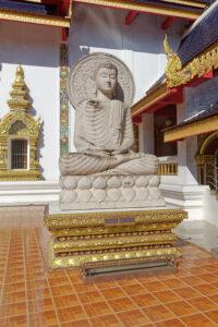 Wat Ban Den statue