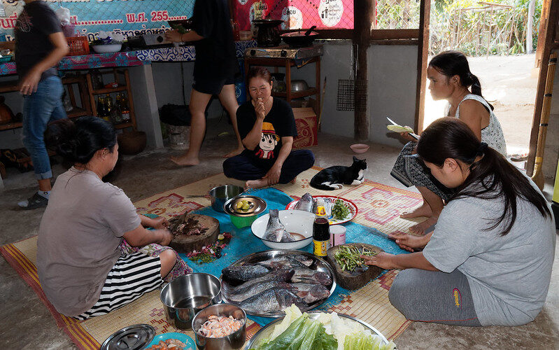 Repas de Mariage Thaïlandais