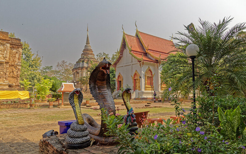 Wat Chet Yot (วัด เจ็ด ยอด) - Phra Aram Luang - Chiang Mai