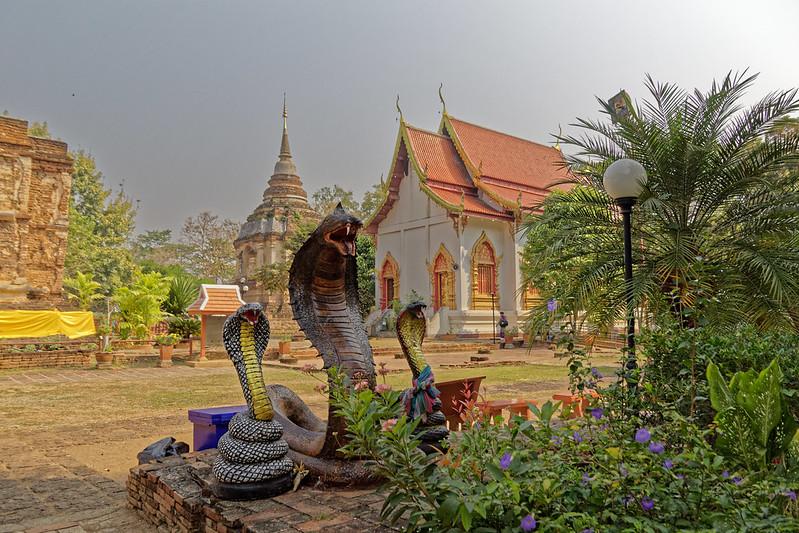 Wat Chet Yot (วัด เจ็ด ยอด) - Phra Aram Luang - Chiang Mai - OnaKuneVie